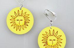 Słońca - kolczyki