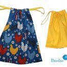 Woreczek na obuwie, ubranie - Kurki IIIby Birdie