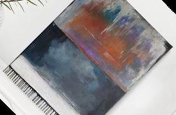 ABSTRAKCJA- obraz akrylowy 30/40 cm