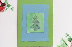 Kartka  świąteczna minimalizm 92