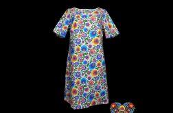 Sukienka Łowiczanka, folkowa moda
