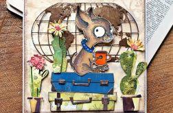 Chihuahua w podróży