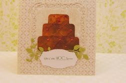Kartka z tortem IIa