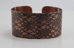 Mozaika - Miedziana bransoletka 180913-02