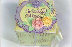 Pudełko z pisanką - Wielkanoc