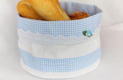Koszyczek tekstylny na pieczywo