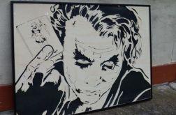 Drewniany obraz Joker Batman