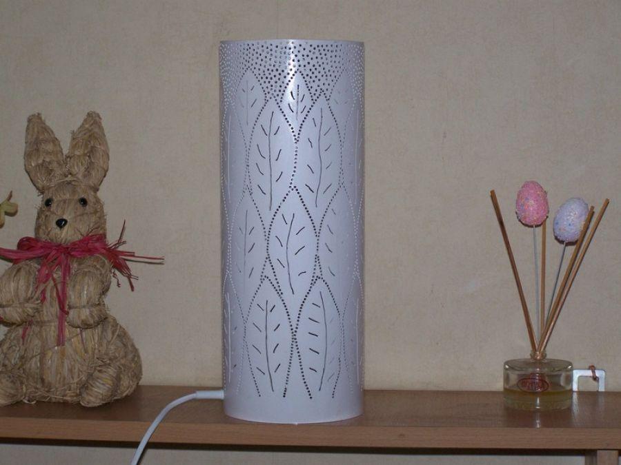 lampa stołowa liście -