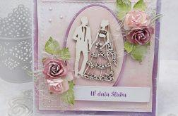 Romantyczny ślub  - komplet z pudełkiem