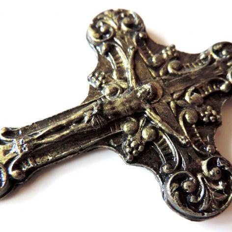 Krzyż 9cm x 6,5cm + gratis opakowanie