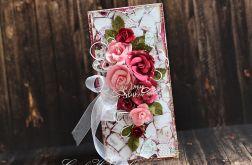 Bukiet ślubnych róż