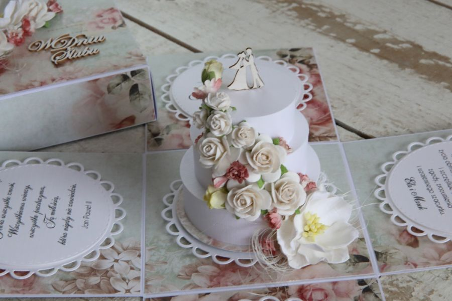 Romantyczny exploding box tort1