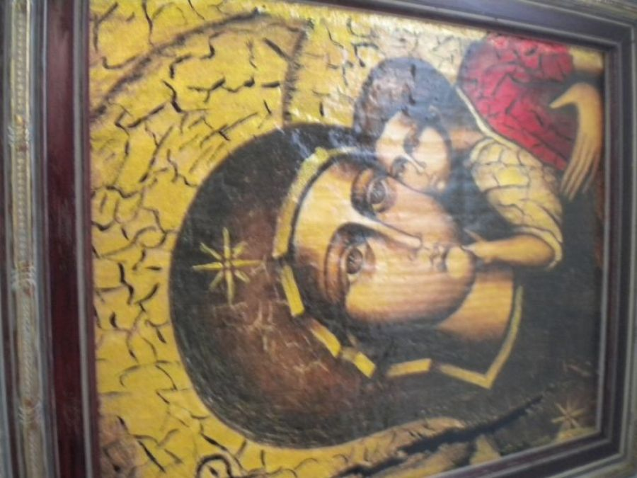 Maryja z dzieciątkiem -obraz religijny II