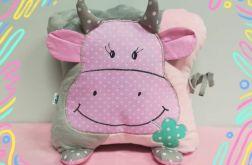 Poduszka-przytulanka krówka