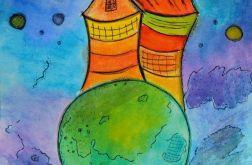 Akwarela magic house