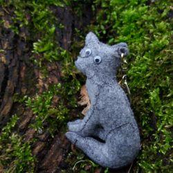 Leśny breloczek - WILCZEK