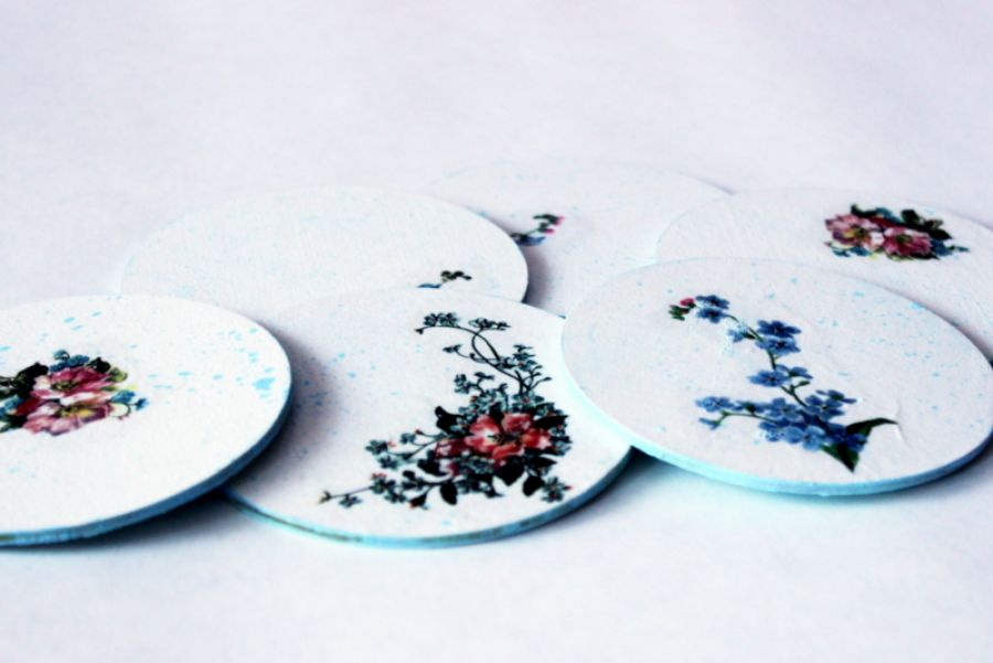 Podkładki z ornamentem