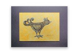 Ptaszek 15 - rysunek dekoracyjny