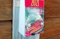 eko - zdobiona deska z kalendarzem