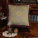 """Dekoracyjna powłoczka na poduszkę """"Słonecznikowy krąg"""""""
