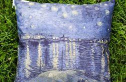 Poduszka - van Gogh, Noc nad Rodanem