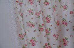 Kpl Zasłony 80x150 *urocze różyczki*