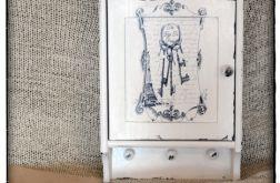 ~Od Ani~ Szafka na klucze Paryż Vintage shabby chic