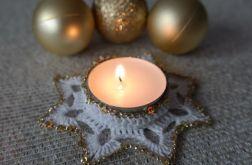 świecznik na podgrzewacz