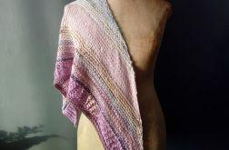 pastelowa chusta