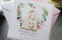 Piękne Zaproszenia 2w1 Ślub i Roczek ZRO 007