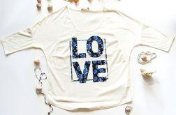 rozmiar L-Koszulka z napisem LOVE