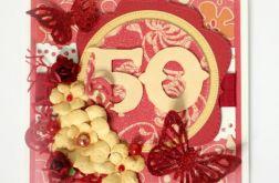 Kartka urodzinowa na 50-tkę KU074