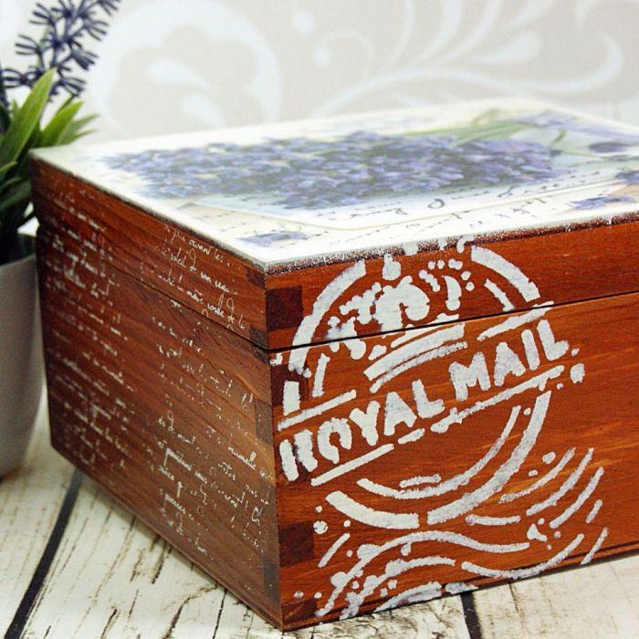 szkatułka- lawenda