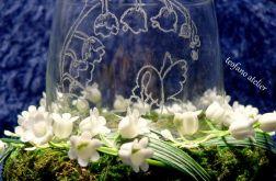 Lampion z konwaliami