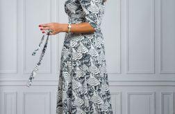 Długa zakładana sukienka ELI