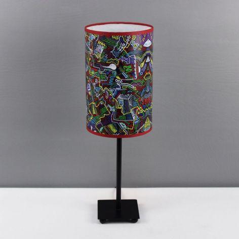 Kolorowa inspirująca lampa nIEŁUKIŁAMIE M