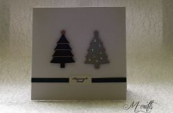 Dwie...Kartka świąteczna