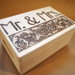 skrzynka Mr&Mrs