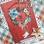 Kartka świąteczna Home For Christmas 3 GOTOWA