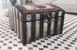 Kufer drewniany retro na co tylko chcesz