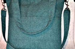 Torebka damska torba turkusek
