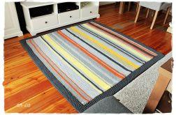 Dywanik ze sznurka bawełnianego kolorowy