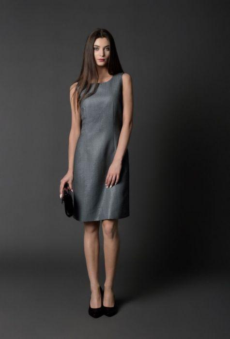 a48a2f813d koktajlowa sukienka ZELINA -włoski żakard - RAHRI