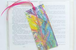 Kolorowa zakładka do książki nr 10