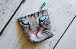 Mała kosmetyczka z kotem