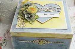 Pudełko ślubne - niezbędnik małżeński