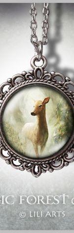 Medalion Sarna - Deer - romantyczny