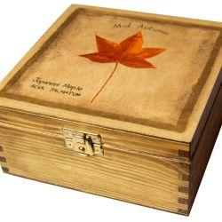 JESIENNA - herbaciarka, pudełko