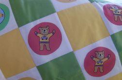 kołderka patchwork dziecięca