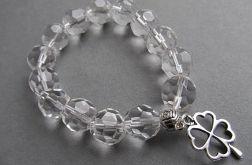 bransoletka z kryształami